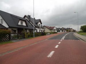 Lusówko (gmina Tarnowo Podgórne) – Osiedle Morskie. Widok z ulicy Tarnowskiej