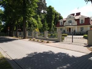 Puszczykowo – rezydencja na ulicy Cienistej
