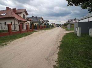 Palędzie (gmina Dopiewo) – nowe domy przy ulicy Pogodnej