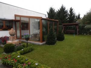 Dom na sprzedaż Baranowo pod Poznaniem – widok na ogród