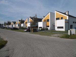 Osiedle Świerkowa Polana – Robakowo (gmina Kórnik) – domy szeregowe