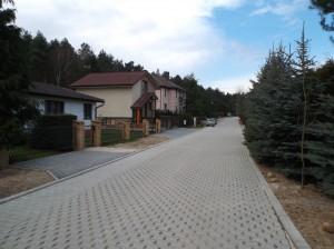 Lusowo – Osiedle Przylesie – działki budowlane i domy przy ulicy Słowika