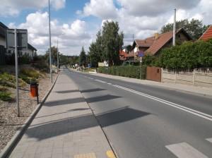 Kiekrz – ulica Chojnicka